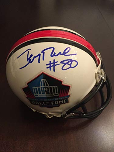 Jerry Rice Autographed Signed Autograph Hall Of Fame Sf 49ers Mini Helmet Beckett Autographed Signed Autograph ()