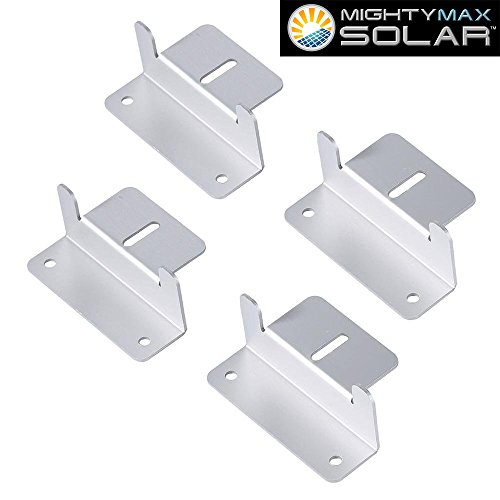Solar-Panel-Mounting-Z-Bracket-kit-for-10-Watt-Solar-Panel-Mighty-Max-Battery-brand-product