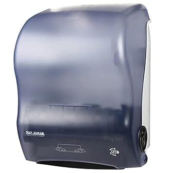 Mesa King t7000tbl simplicidad manos libres dispensador de toalla de rollo - ártico azul: Amazon.es: Hogar