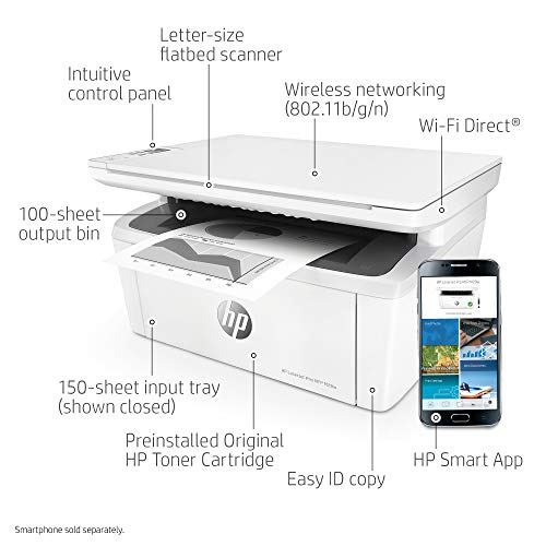 HP M29w All-in-One Printer with Printing