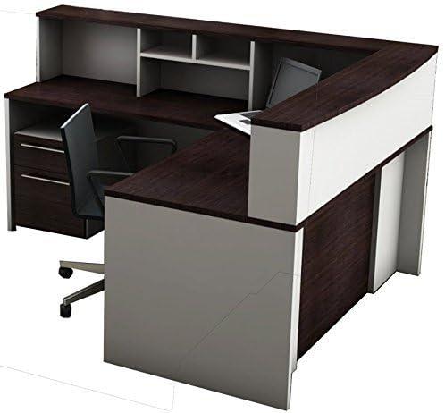OfisLite 2311 Reception Center Desk Complete Group Including Mobile Filing Cart