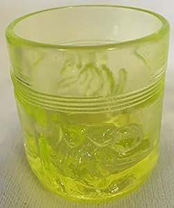 Toothpick Holder - Monkey Barrel - Vaseline - American Made