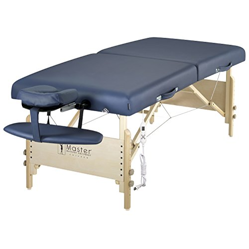 Master Massage 30″ Coronado Therma Top LX Portable Massage Table Package, Royal Blue Review