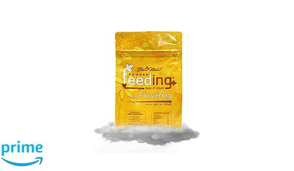 GreenHouse Fertilizante en polvo nutriente, alimentador largo de hidropónicos y nutrientes de 1 kg: Amazon.es: Jardín