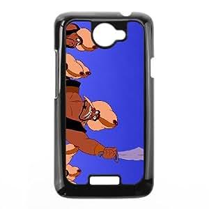 HTC One X Cell Phone Case Black Disney Aladdin Character Razoul Zoaph