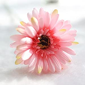 Yezijin Artificial flower Artificial flowers Fake Flower Sunflower Floral Wedding Home Office Party Hotel Restaurant patio or Yard Decoration (H) 28