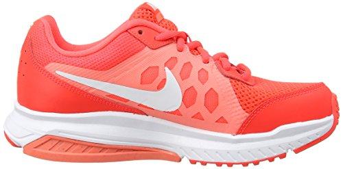Nike Dart 11 - Zapatillas Mujer Rojo (bright crimson/white-lava glow 600)