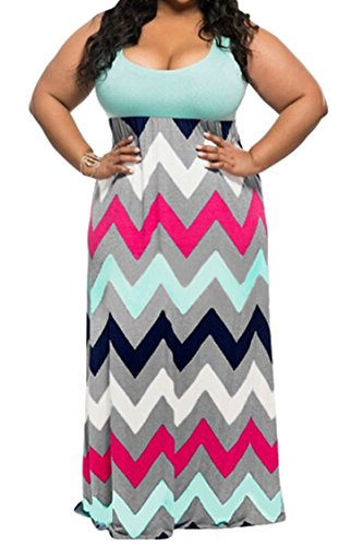 Buy Plus size womens summer dresses - 1