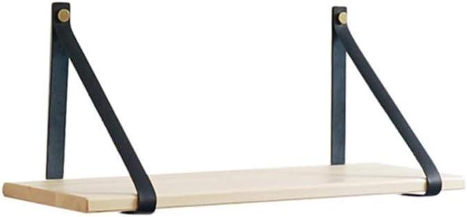 Soportes de estantería de cuerda de cuero para proyecto de ...