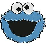 Sesame Street Cookie Monster Mens Blue Belt Buckle