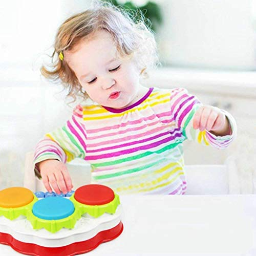 41wevkAh ML - TINOTEEN Baby Musical Toys for Toddler, Piano and Drum Musical Instruments Toys