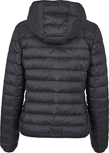 Nero Ladies 00007 Jacket Classics Urban Hooded Donna Basic black Cappotto gU0wx