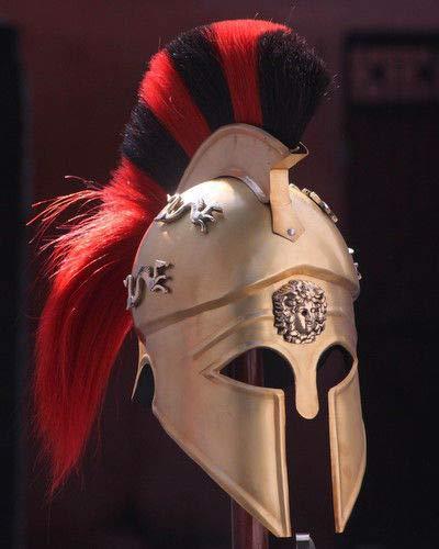 Amazon com: MIR Royal Greek Corinthian Helmet Armor Medieval