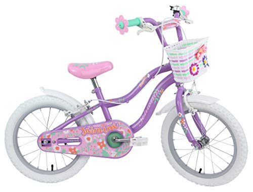 Schwinn Girls' Jasmine Kids Bike, Purple, 16'