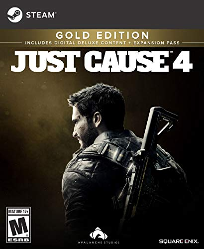 Pc Just (Just Cause 4 Gold Edition [Online Game Code])
