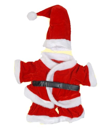 Shining Costume Bear (Santa Claus Outfit Fits Most 8