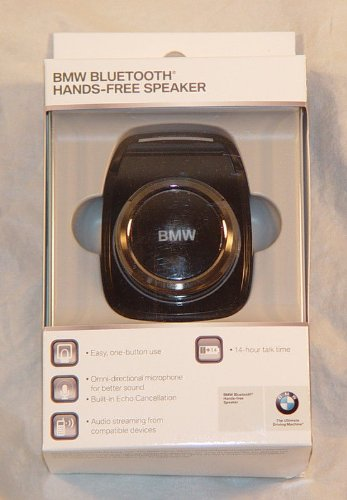 BMW OEM Alpine Bluetooth Universal Hands-Free Speaker