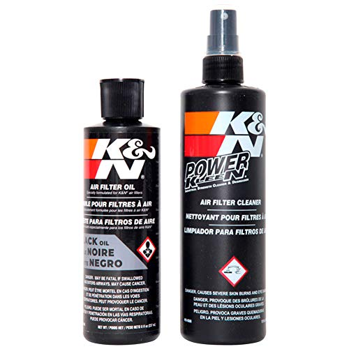 K&N 99-5050BK Filter Care Service Kit - Squeeze Black