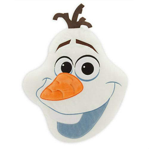 Frozen Olaf Plush Pillow Embroidered Head Cushion Bedding New! by Generic