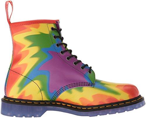 Bottes Mixte Pride dye 1460 Adulte Tie 102 Classiques Bottines Dr Martens Multicolore Print Multicolore et qExTR