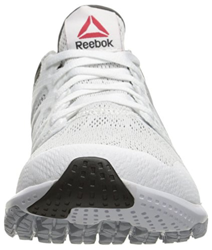Grey Zprint Grey Cloud Shoe Red Coal Riot Metallic Women's 3D White US 9 Walking Reebok M Silver A5qX7PFw6x