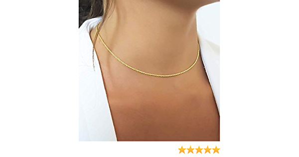 IVORY STRING CHOKER simple string necklace minimalist Purity Necklace satin cord