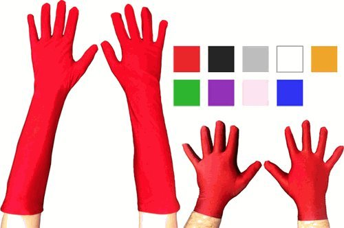 Super Hero Gloves (Superhero Gloves Costume Accessory - One Size - Chest Size)