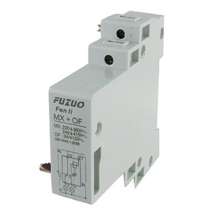 eDealMax MX + DE relé de Interruptor auxiliar CA 220V para ...