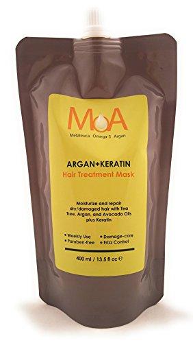 MOA ARGAN KERATIN Hair Treatment Mask 13.5 fl oz