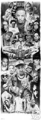 Rap Gods 2 2pac Eminem Urban Hip Hop Music Giant Door Poster 21 x 62 inches