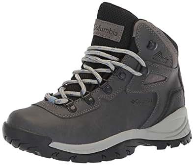 Columbia Women's Newton Ridge Plus Hiking Boot,Quarry/Cool Wave,5 M US
