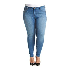 Celebrity Pink Jeans Women's Plus Size Celebrity Pink Infinite Stretch Mid Rise Skinny Jean