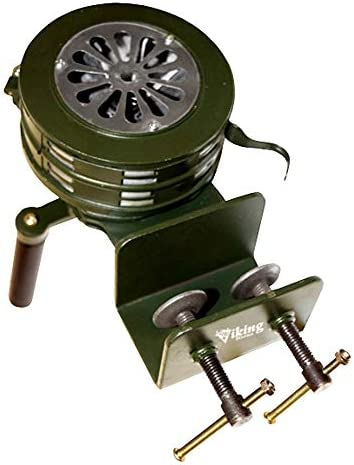 Electronics Air Raid Vixen Horns Loud Base/Table Mount Hand Crank ...