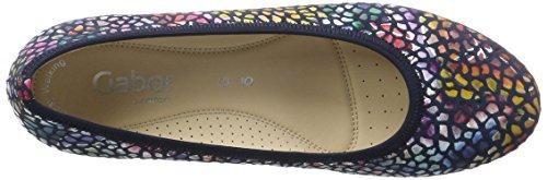 Gabor Shoes 62.641, Bailarinas Mujer Azul (river Grata/weiss  46)