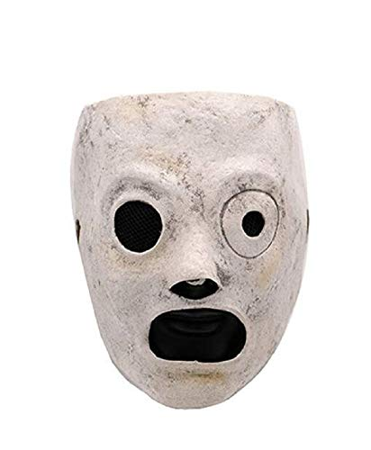 Unisex Adult DJ Mask Full Face Latex Mask Halloween Cosplay Costume Accessory -
