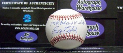 Autograph Warehouse 31935 Roger Craig Autographed Baseball Inscribed 1St Pitch K Mets 1962
