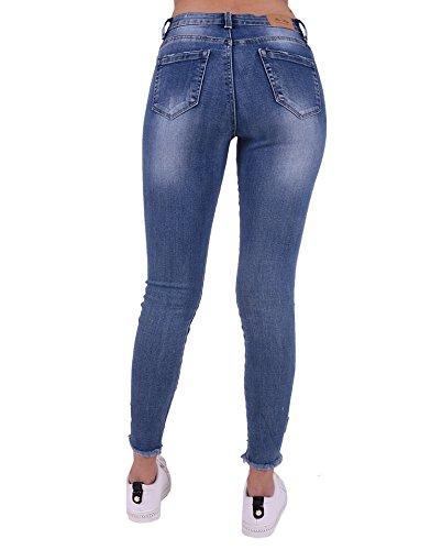 Miss Jean Coquines Bleu Femme Jeans TXHSwXxq
