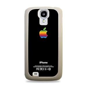 145 Retro Apple Samsung Galaxy S4 Hardshell Case - White