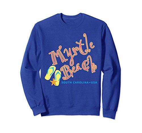 - Unisex Myrtle Beach South Carolina souvenir sweatshirt Medium Royal Blue
