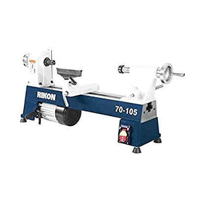 "RIKON Power Tools 70-105 10"" x 18"" 1/2 hp Mini Lathe"