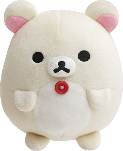 San X Rilakkuma Round Soft Plush Doll Korilakkuma S Size