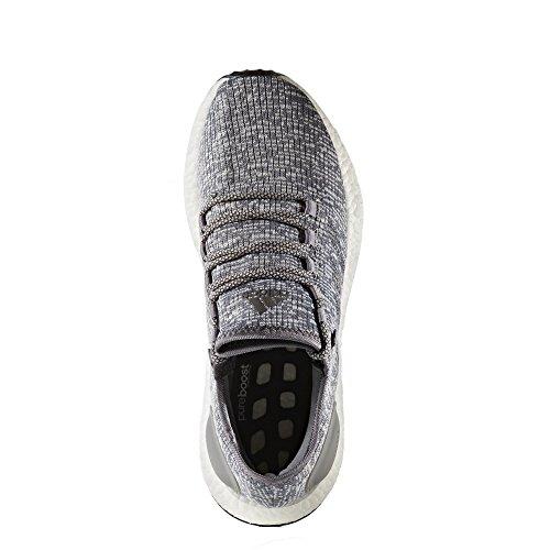 adidas Pure Boost, Scarpe da Corsa Uomo, Grigio (Grey/Dgh Solid Grey/Clear Grey), 45 1/3 EU