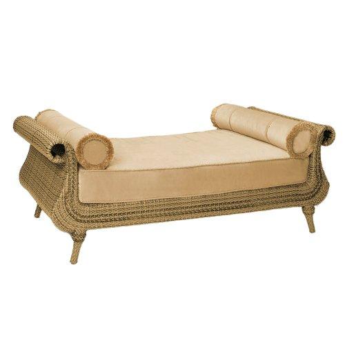 Whitecraft by Woodard South Shore Wicker Daybed (Woodard Wicker Furniture)