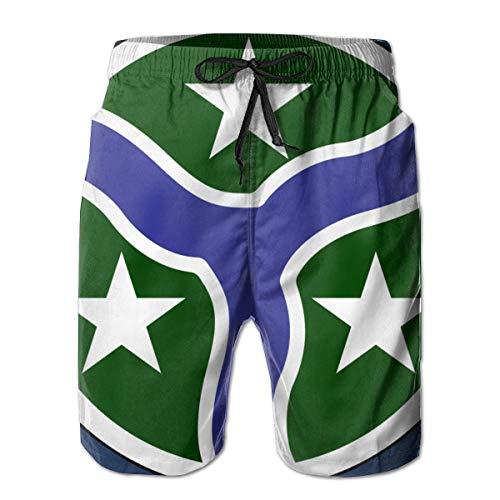 278th Armored Cavalry Regiment 3D Print Men's Beach Shorts Swim Trunks Workout Shorts Summer Shorts White ()
