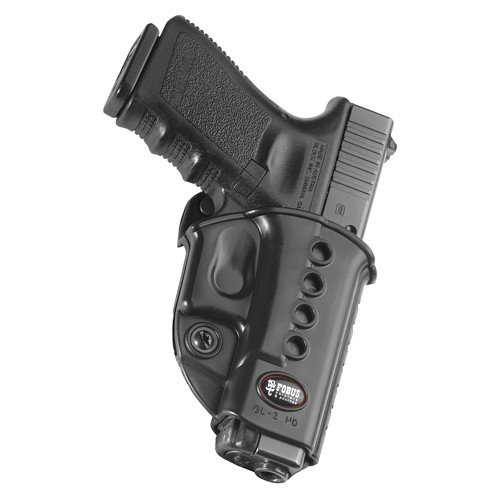 Fobus SWSRB Roto Evolution Series Belt Holster, Fits Walther PPS / CZ 97B / Taurus 709 Slim, 708, 740, Right Hand, Black - Right Hand Black Warranty
