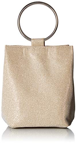 Jessica McClintock Gwen Sparkle & Shine Ring Pouch Clutch, - Clutch Shimmer