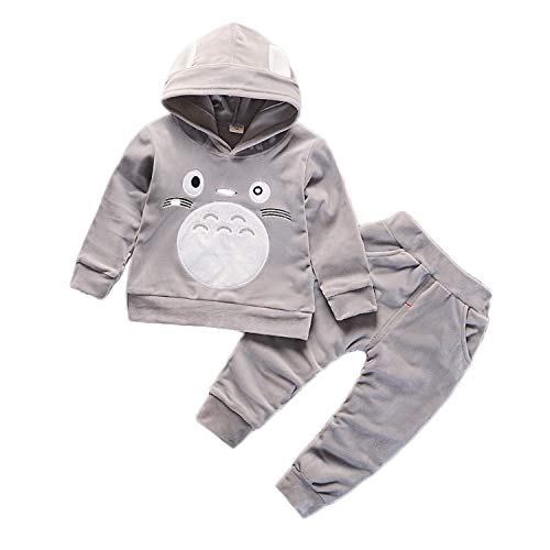 Totoro Clothes Velvet Sweatshirt Boys product image