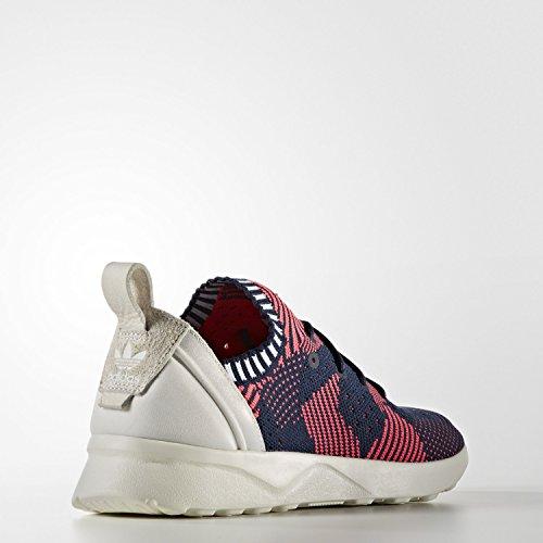 Adidas Kvinner Zx Flux Adv Dyd Primeknit (sjokk Rød / Kollegialt Navy) Sjokkere Rød / Kollegialt Navy