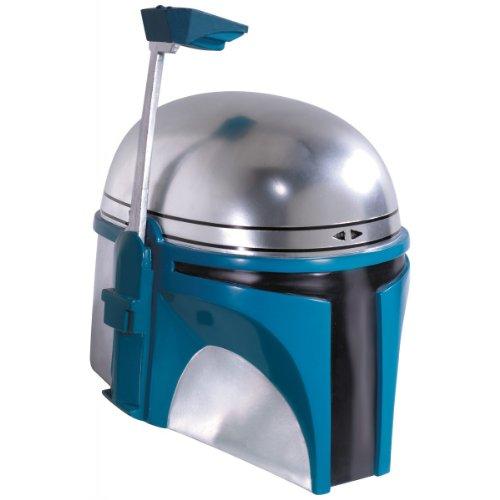[Rubie's Star Wars Supreme Deluxe Jango Fett Collectors Helmet Accessory | 65001] (Deluxe Chewbacca Costumes)