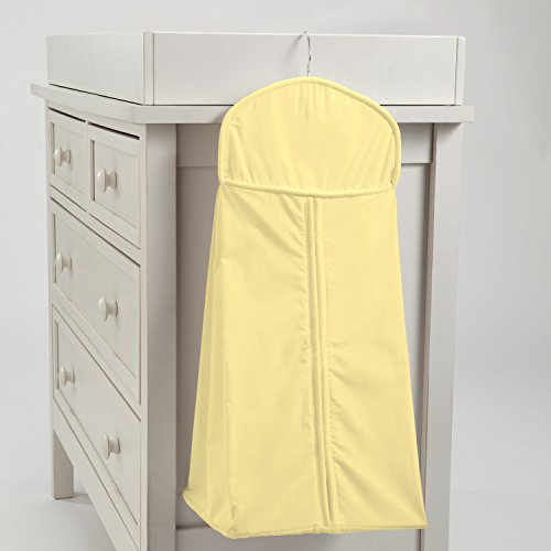 Carousel Designs Solid Banana Diaper Stacker